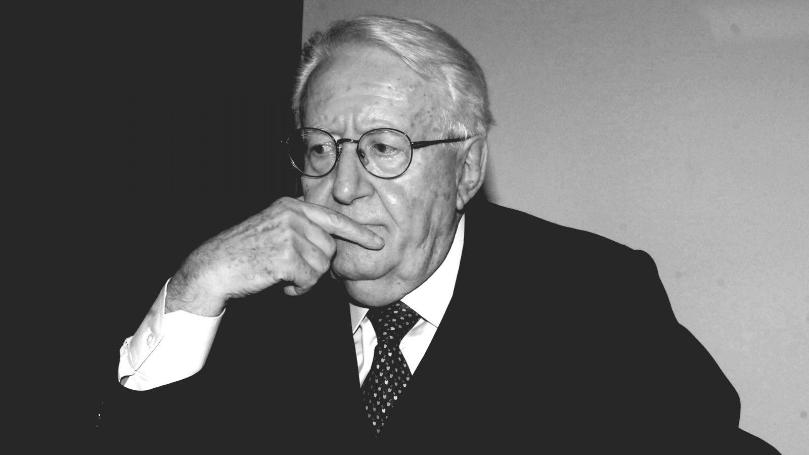 Giuseppe Zamberletti (fonte: Imagoeconomica)