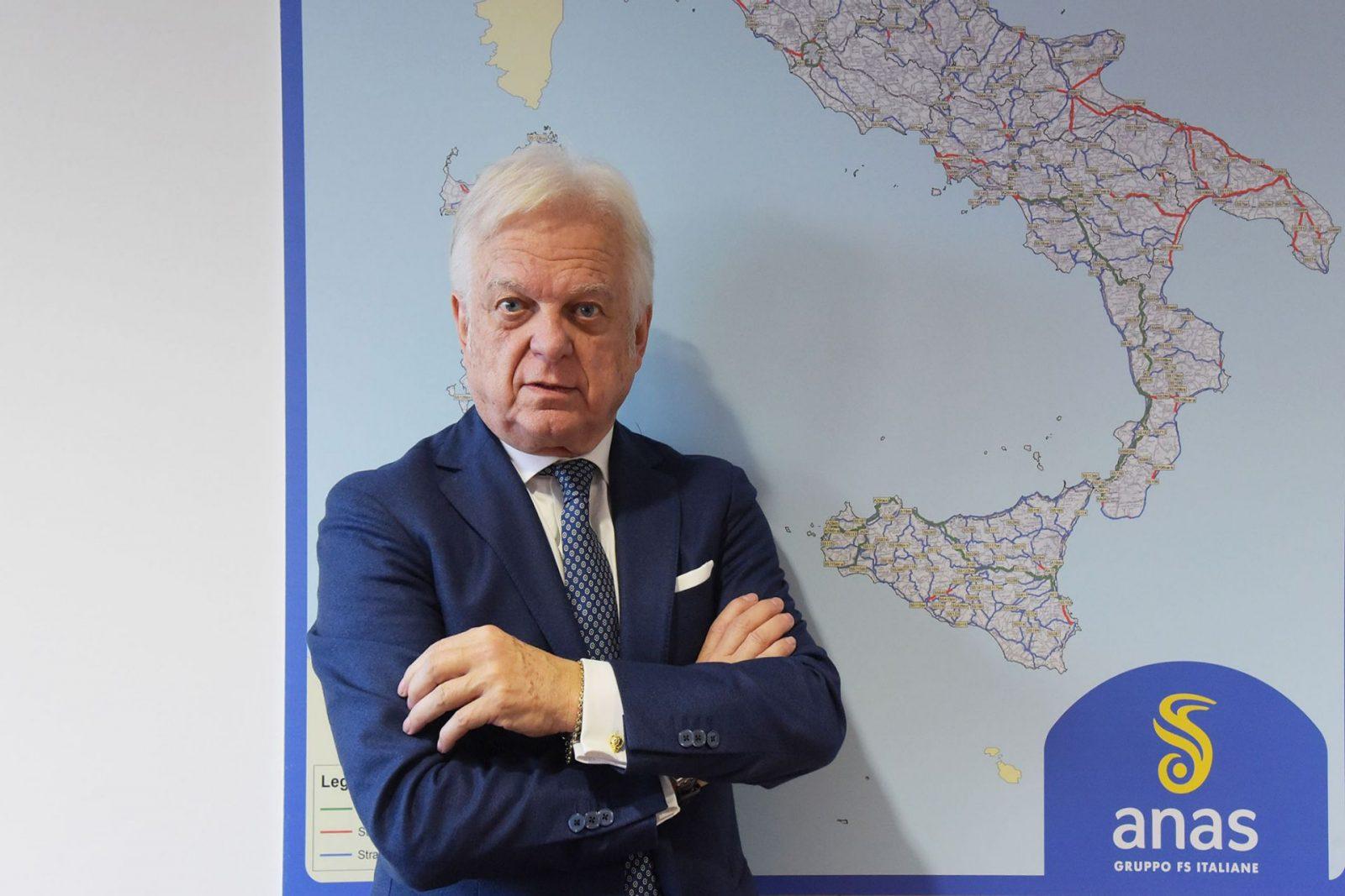 Claudio Andrea Gemme, presidente Anas da dicembre 2018 (Archivio Anas)