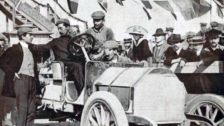 La Targa Florio del 1906