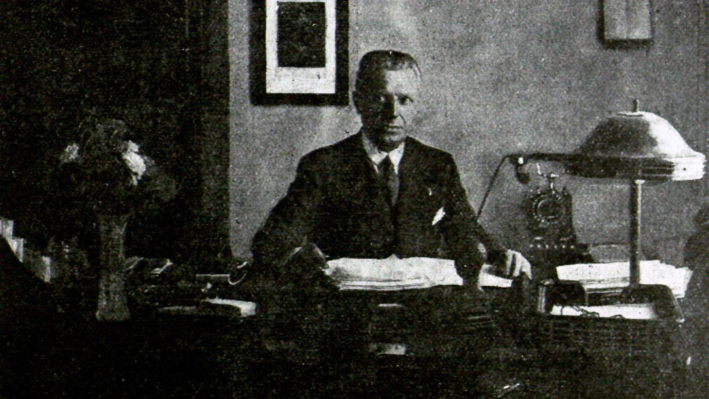 Ing. Pio Calletti sulla rivista RACI, 15 luglio 1928 (fonte: ACI)