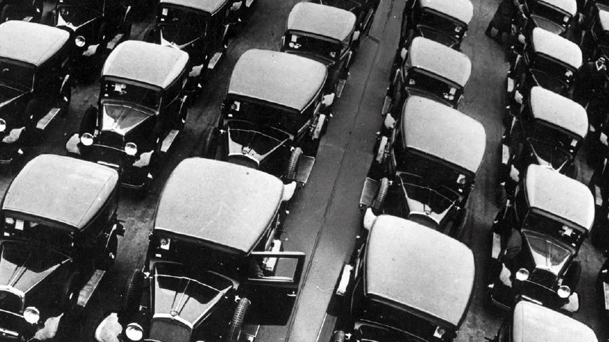 """Fiat Balilla, Archivio Fiat (fonte: Ansa, """"La strada racconta"""", 2018)"""