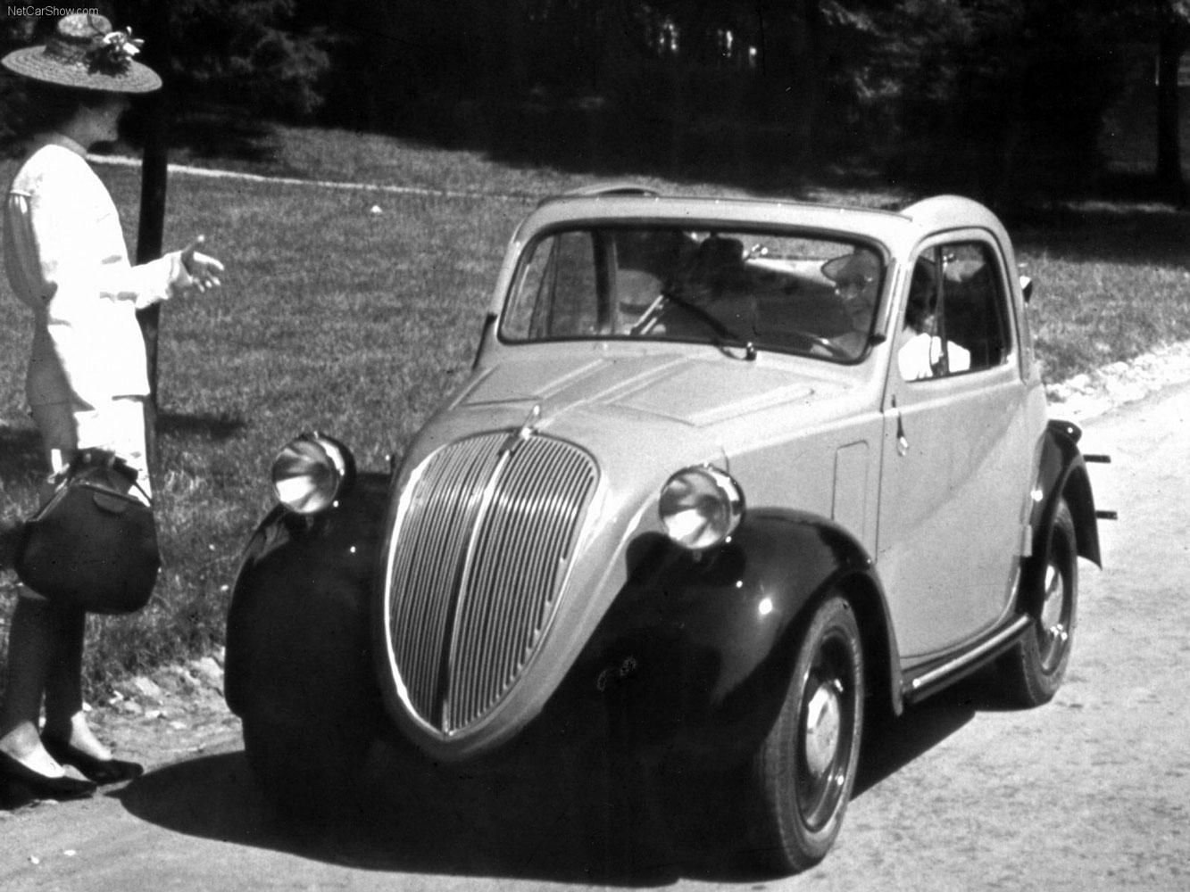 FIAT Topolino 500 B, 1948 (fonte: netcarshow.com)
