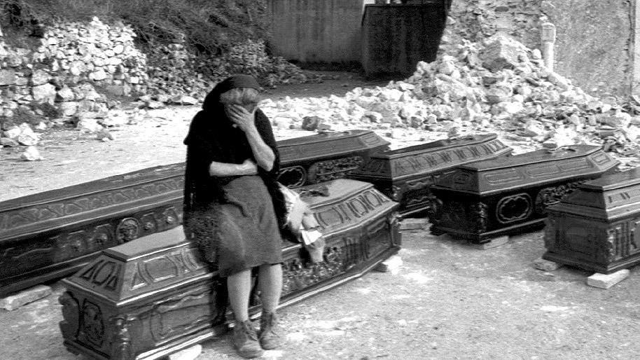 Le tragiche conseguenze del terremoto in Irpinia (Ansa, La strada racconta, 2018)