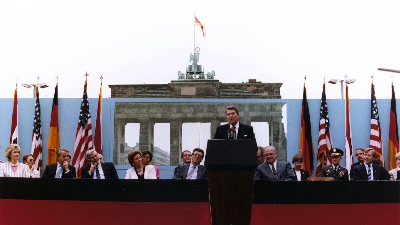 Discorso di Reagan a Berlino nel 1987