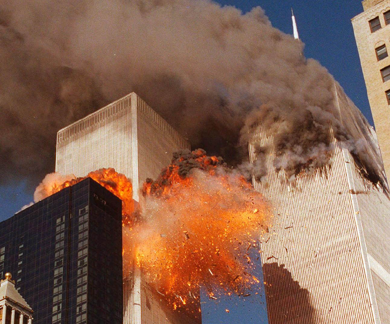 New York, World Trade Center: le Torri Gemelle colpite dagli attentati terroristici dell'11 settembre 2001