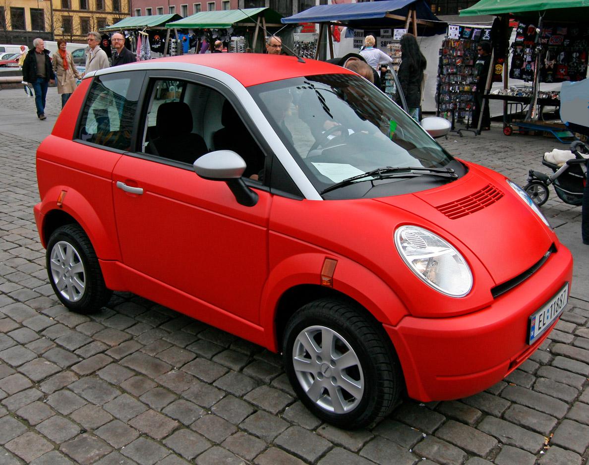 TH!NK City, auto elettrica prodotta dalla casanorvegese Th!nk Global