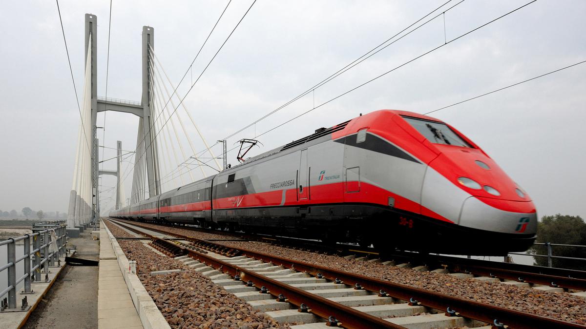 Treno Frecciarossa (fonte: Ferrovie dello Stato Italiane)