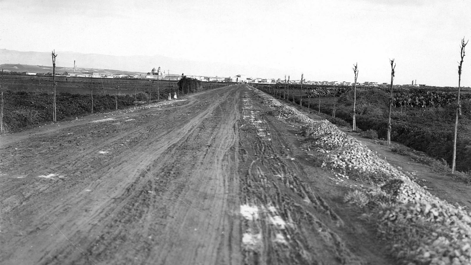 Sardegna, tratto stradale tra Cagliari e Quartu S. Elena (Archivio storico Anas)