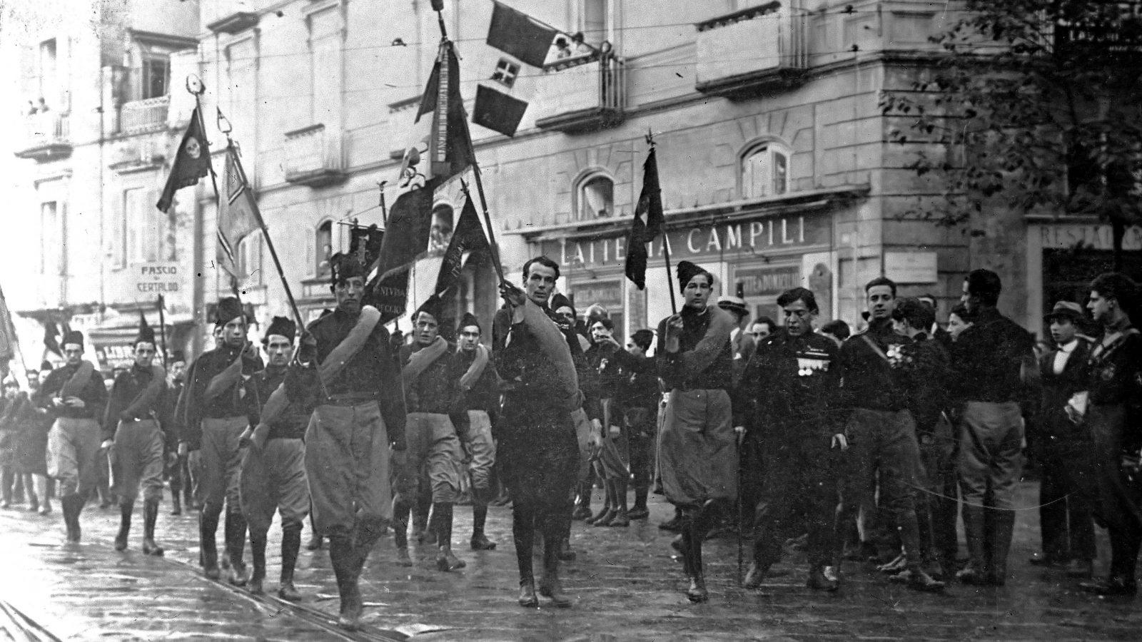 La marcia su Roma, 28 ottobre 1922 (fonte: ilgiornale.it)