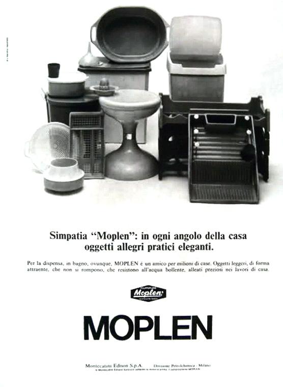 Pubblicità Moplen (fonte: treccani.it)
