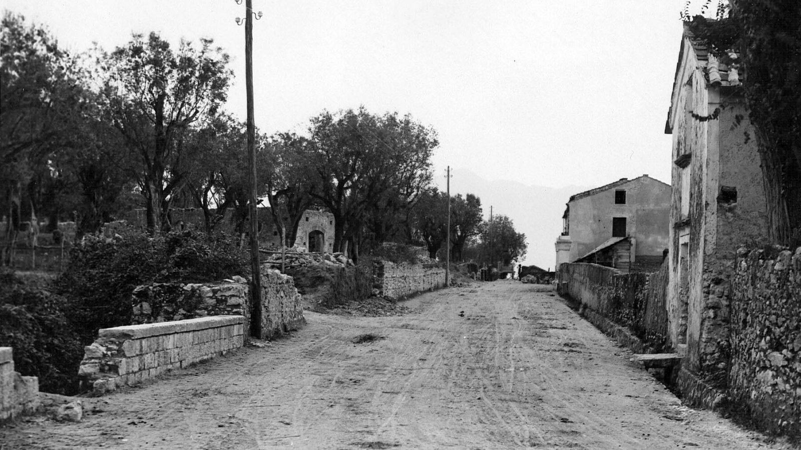 Tratto stradale a Eboli (Archivio storico Ansa)