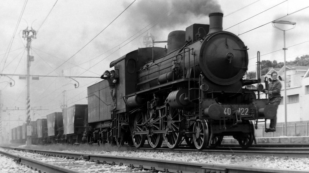 Locomotiva a vapore del gruppo 640 (fonte: Ferrovie dello Stato Italiane)