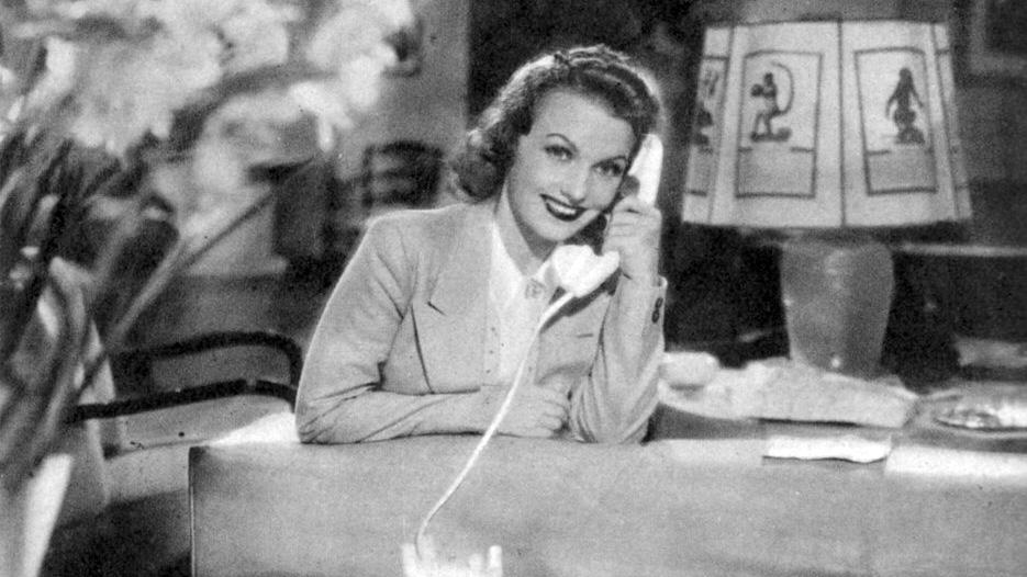 Assia Noris in una foto di scena del film La casa del peccato del 1938