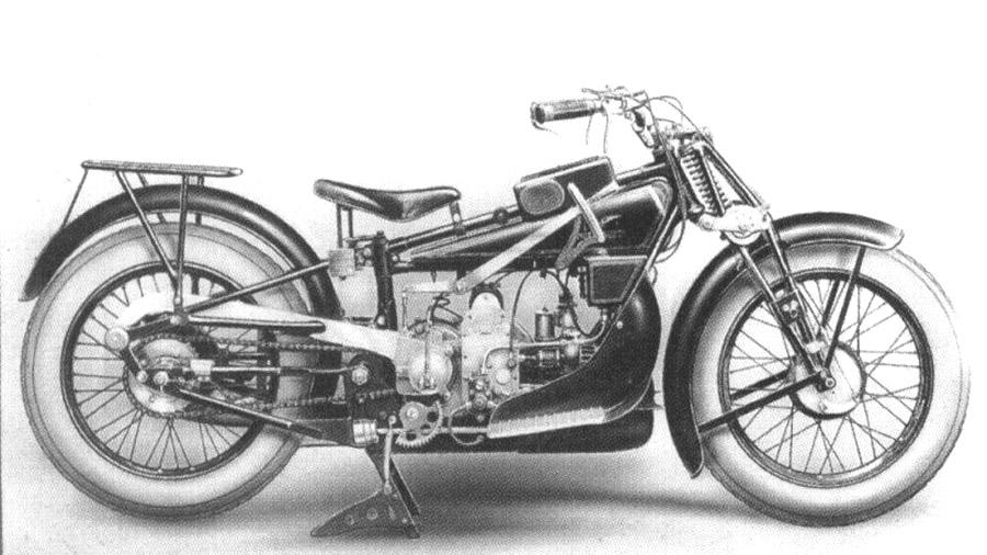 Moto Guzzi GT 500 Norge del 1928