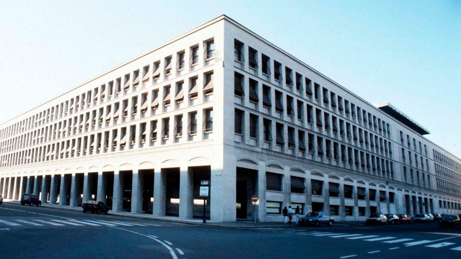 Sede della Cassa per il Mezzogiorno a Roma (fonte: Imagoeconomica)
