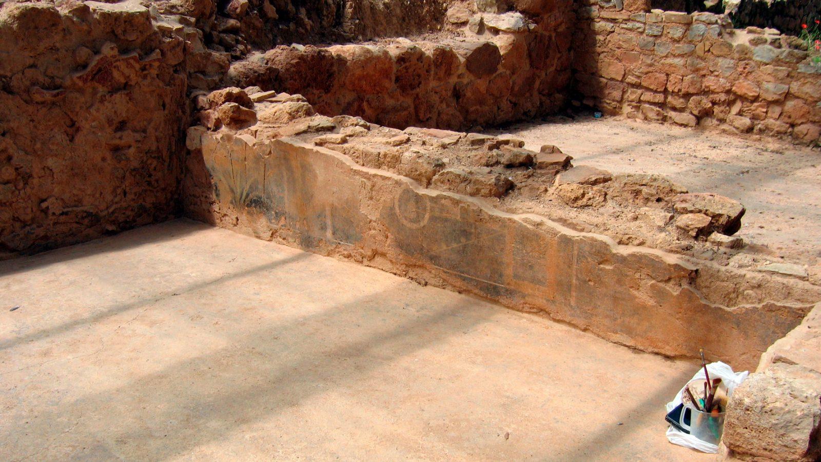 Toscana, resti di una villa rustica romana (I-III sec. d.C.) rinvenuti nel I lotto della E78 Grosseto-Siena (Archivio storico Anas)