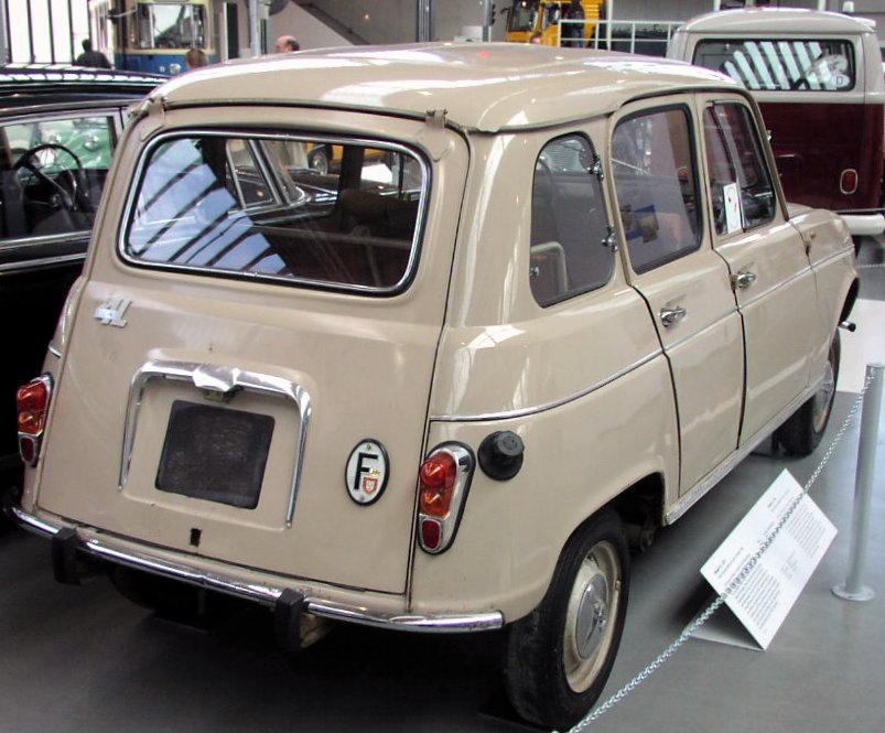 Renault 4 del 1962
