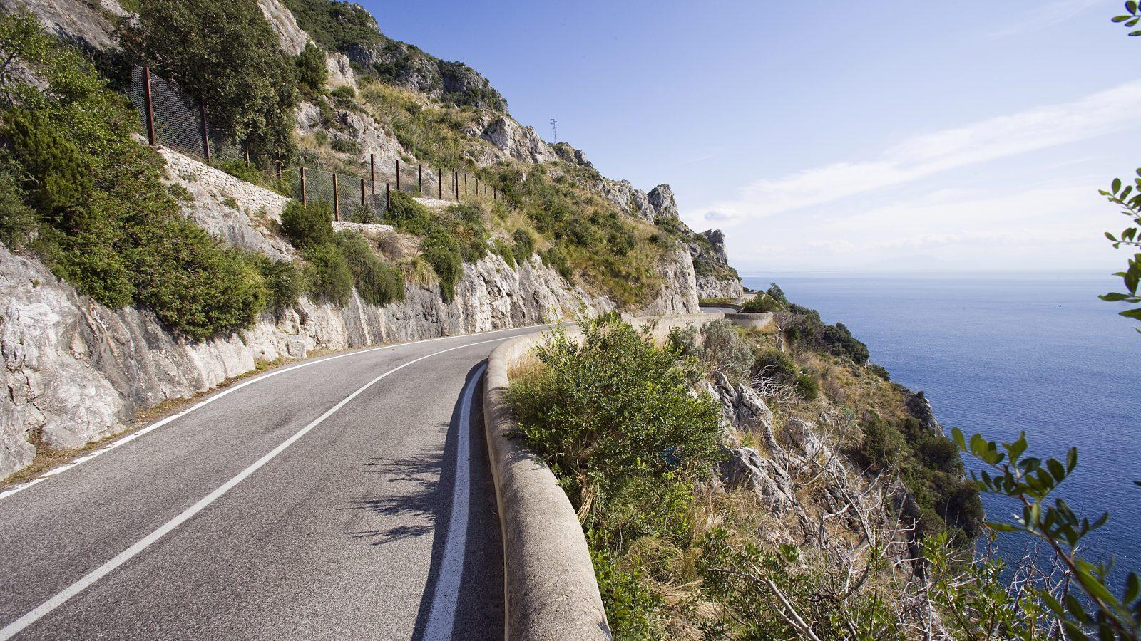 "Campania, strada statale 163 ""Amalfitana"" (Archivio storico Anas)"