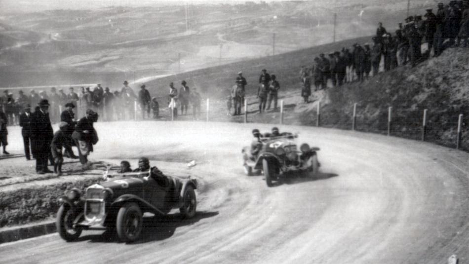 La sesta edizione della Mille Miglia, FIAT 514 MM e FIAT 514 CA Spider