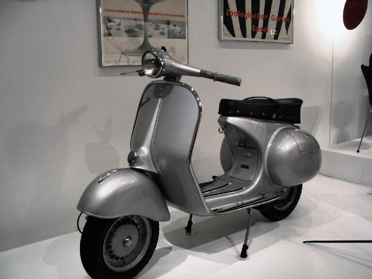 Vespa Piaggio esposta al MoMA di New York (Fonte: artribune.com)
