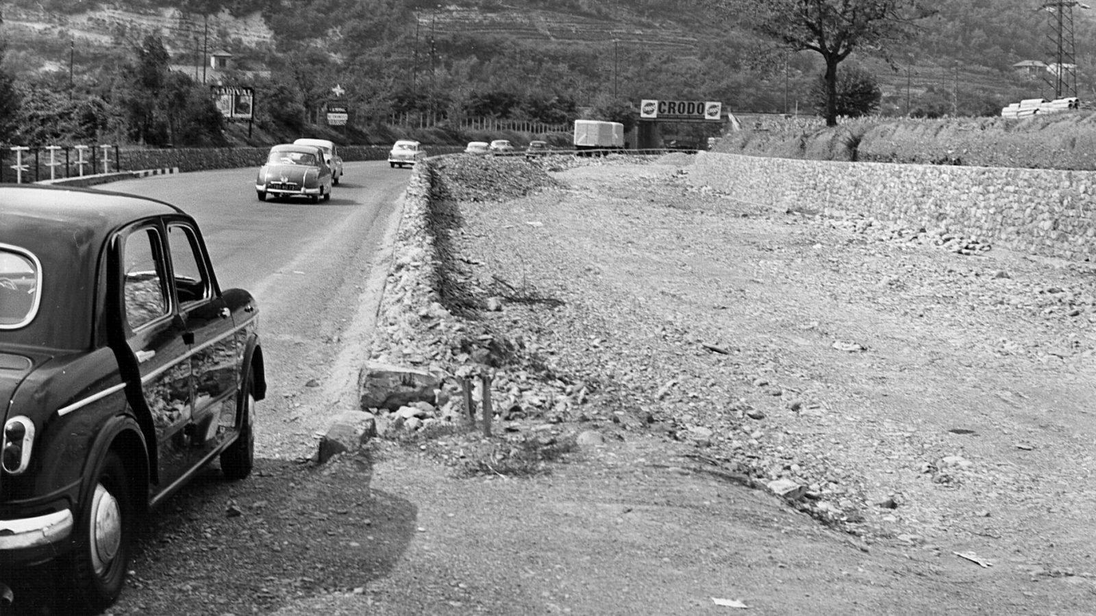 Liguria, autocamionale autostrada A7, 1959 (Archivio storico Anas)