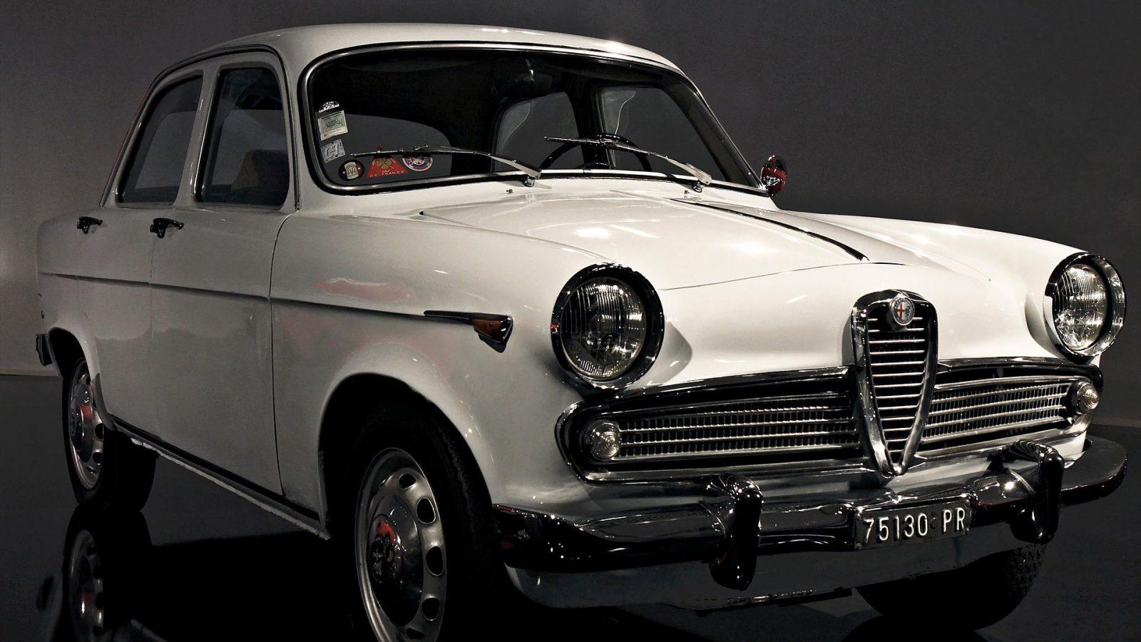 Alfa Romeo Giulietta Berlina del 1955