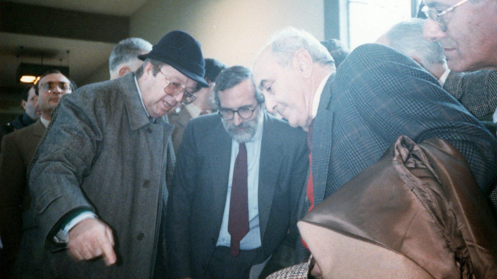 Giuseppe Scaramuzzi, 1988 (archivio famiglia Scaramuzzi)