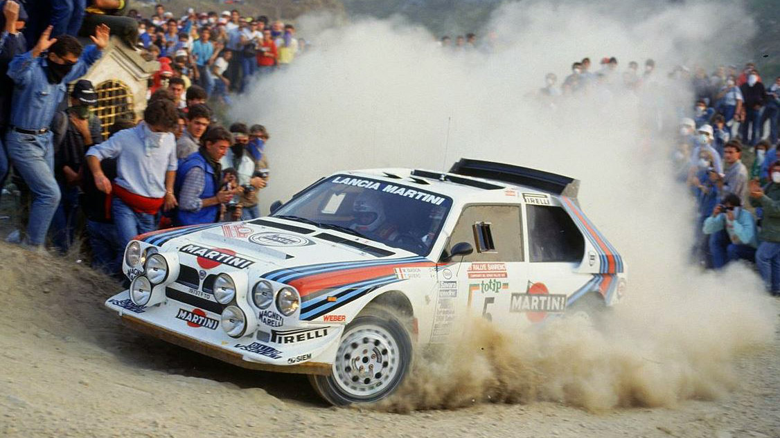 Lancia Delta S4 al Rallye di Sanremo