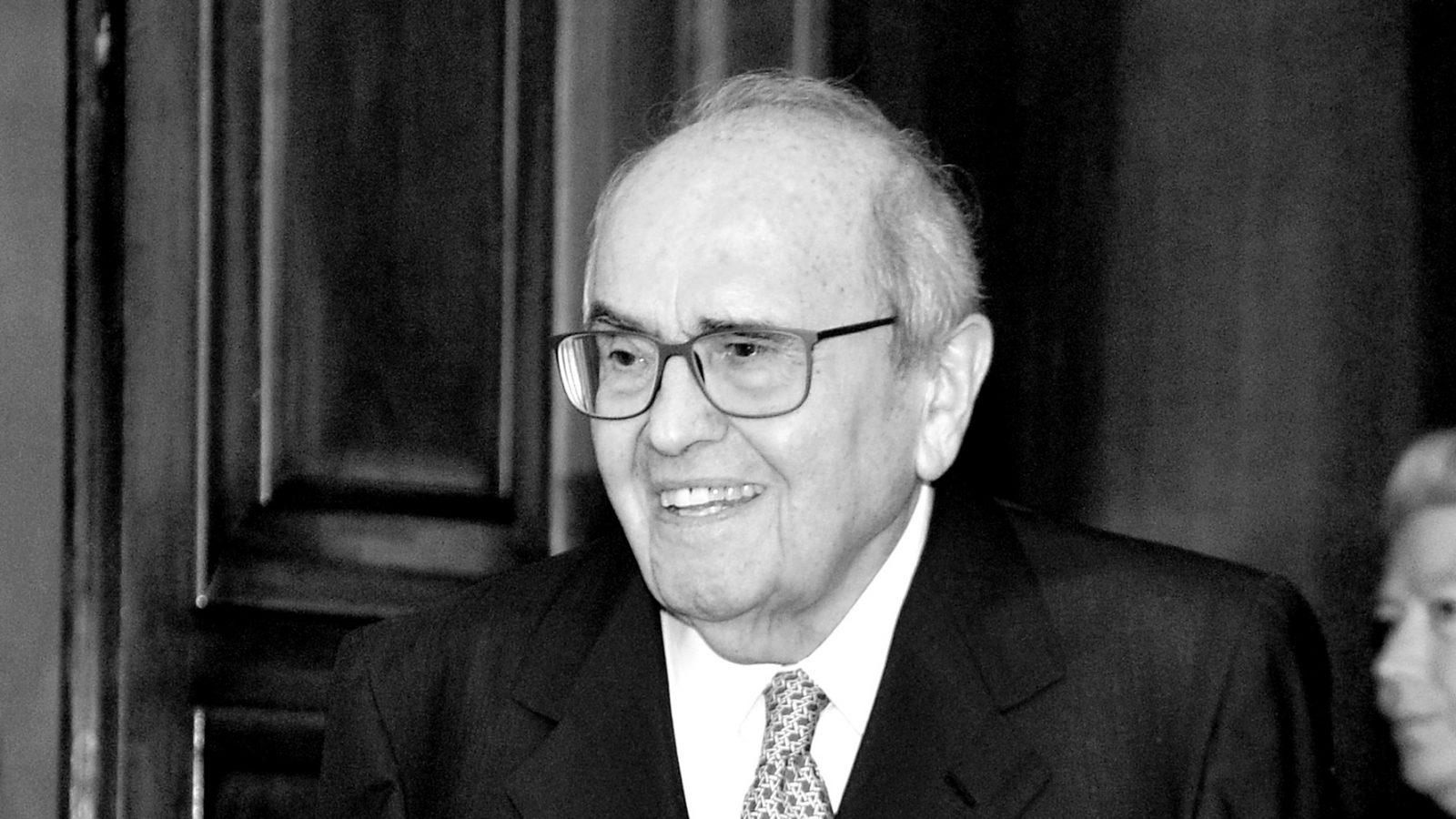 Francesco Merloni, ultimo ministro a ricoprire il ruolo di Presidente del Consiglio di Amministrazione di ANAS negli anni '90 (fonte: Imagoeconomica)