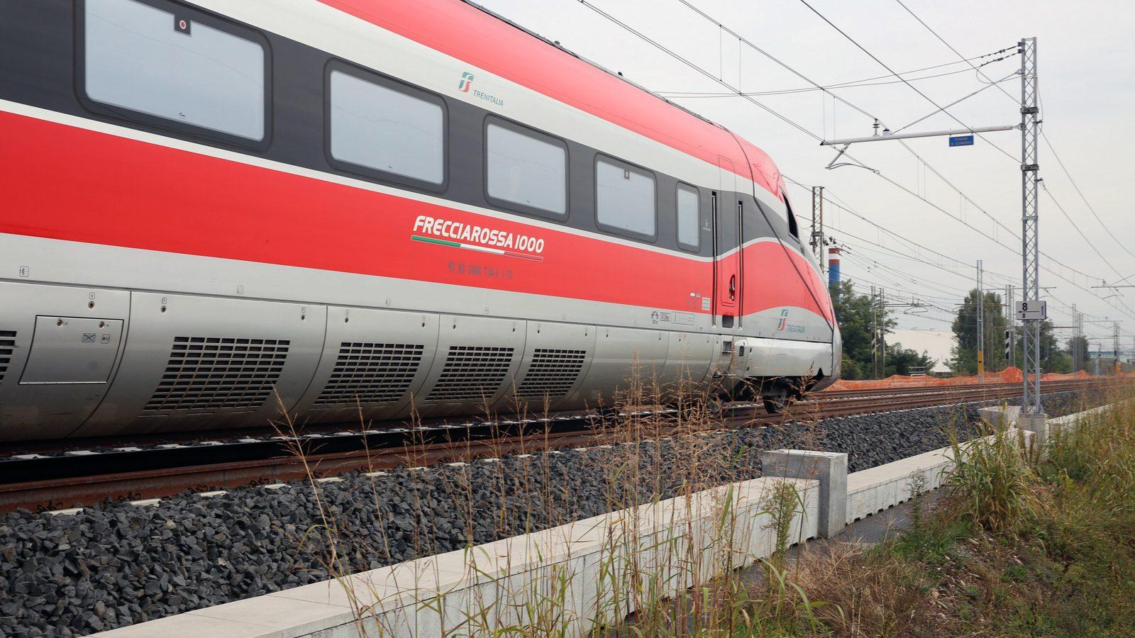 Treno Frecciarossa 1000 (fonte: Ferrovie dello Stato Italiane)