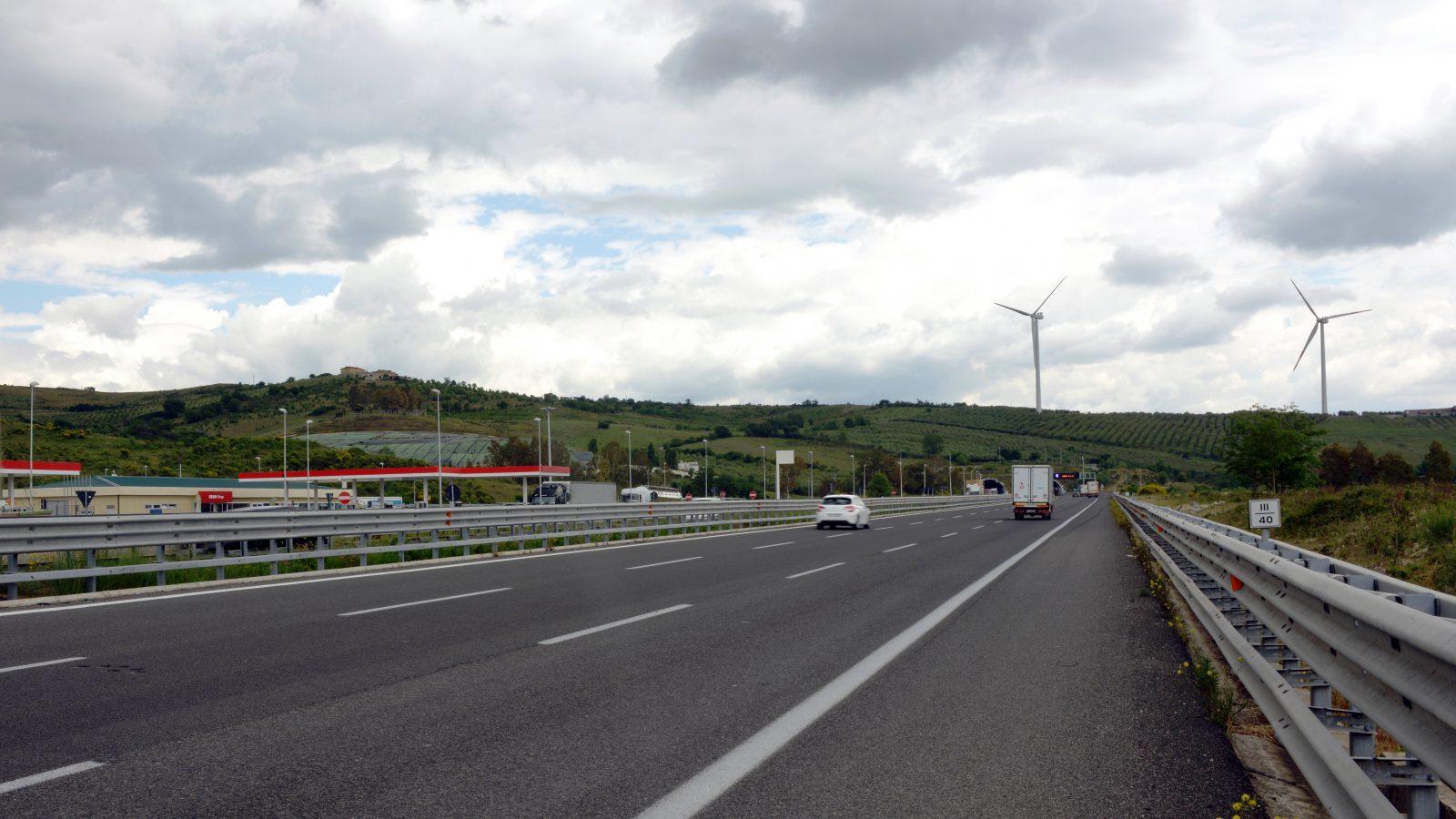 Autostrada del Mediterraneo, tratto Campagna-Contursi (Archivio storico Anas)