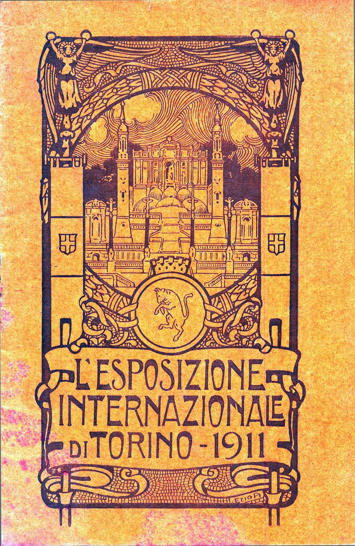 Manifesto dell'Esposizione interazionale di Torino, aprile-novembre 1911