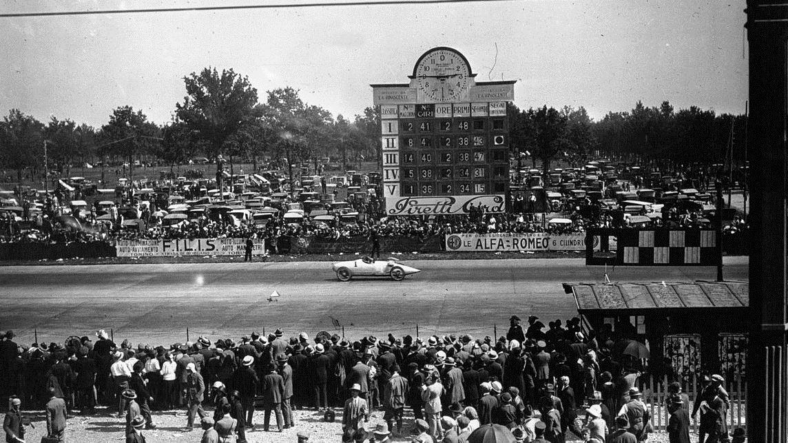 Il Gran Premio d'Italia del 1923