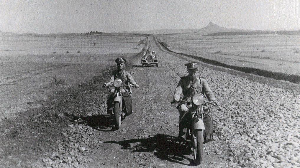 Strada Imperiale n 9, Strada di Debra Tabor - visita  del Ministero  dei Lavori Pubblici Cobolli Gigli, 1937 (Archivio storico Anas)