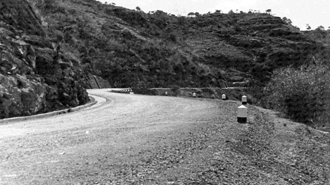 Strada Imperiale n 3, Strada per Decamerè (Archivio storico Anas)