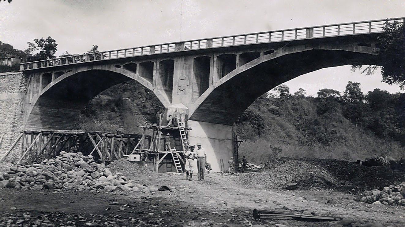 Strada Imperiale n 3, Strada per Decamerè – Ponte sul fiume Zerima (Archivio storico Anas)