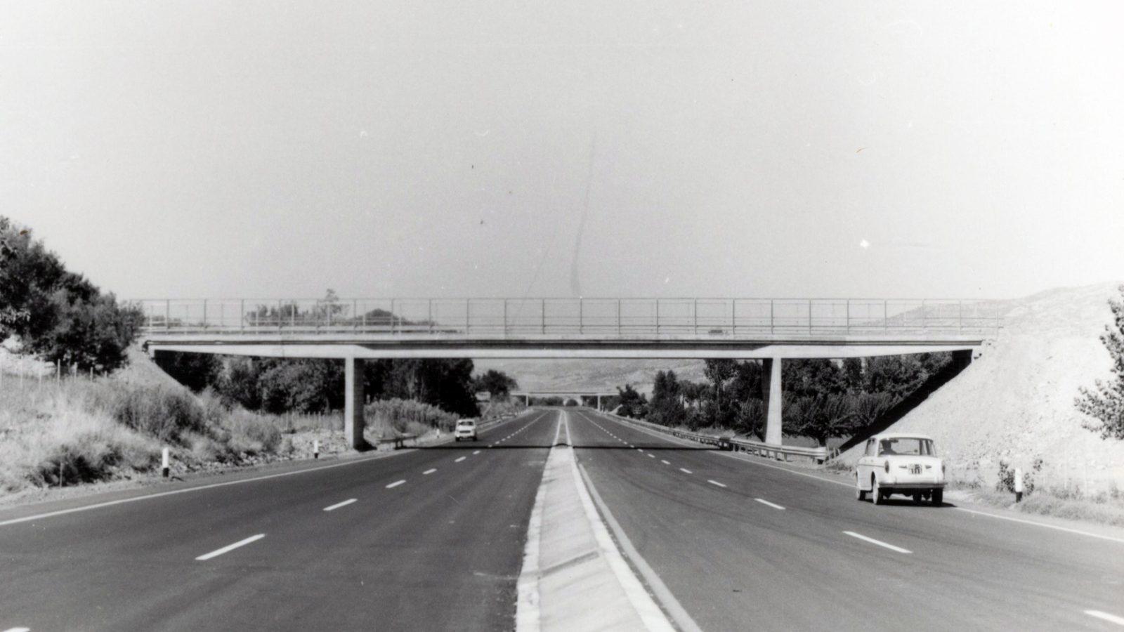 Autostrada A3 Salerno – Reggio Calabria (archivio famiglia Scaramuzzi)