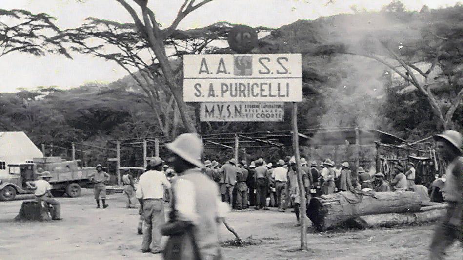 Cantiere della S.A. Puricelli (Archivio storico Anas)