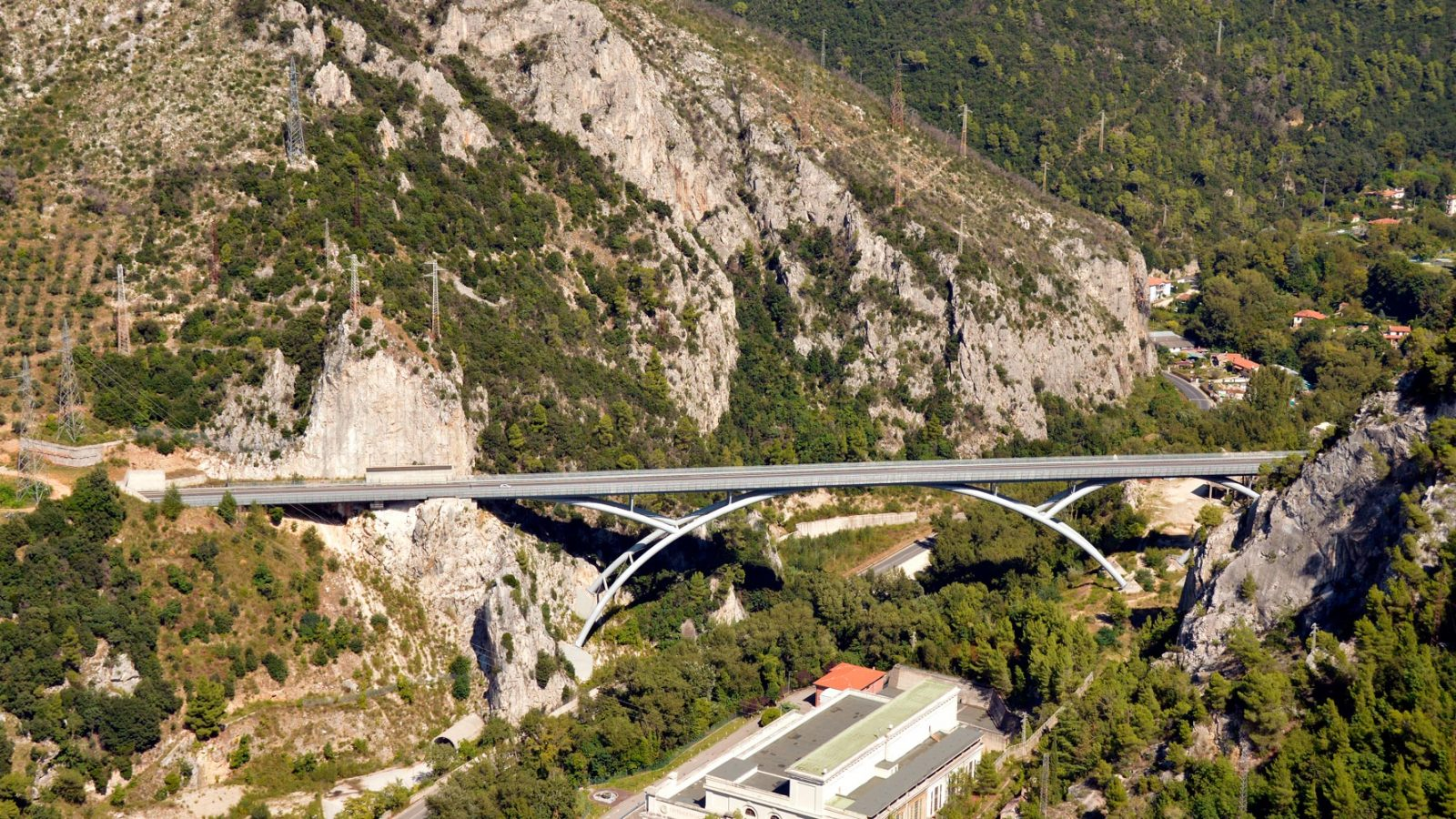 "Umbria, strada statale 79 bis ""Ternana"", Ponte delle Marmore (Archivio storico Anas, 2015)"