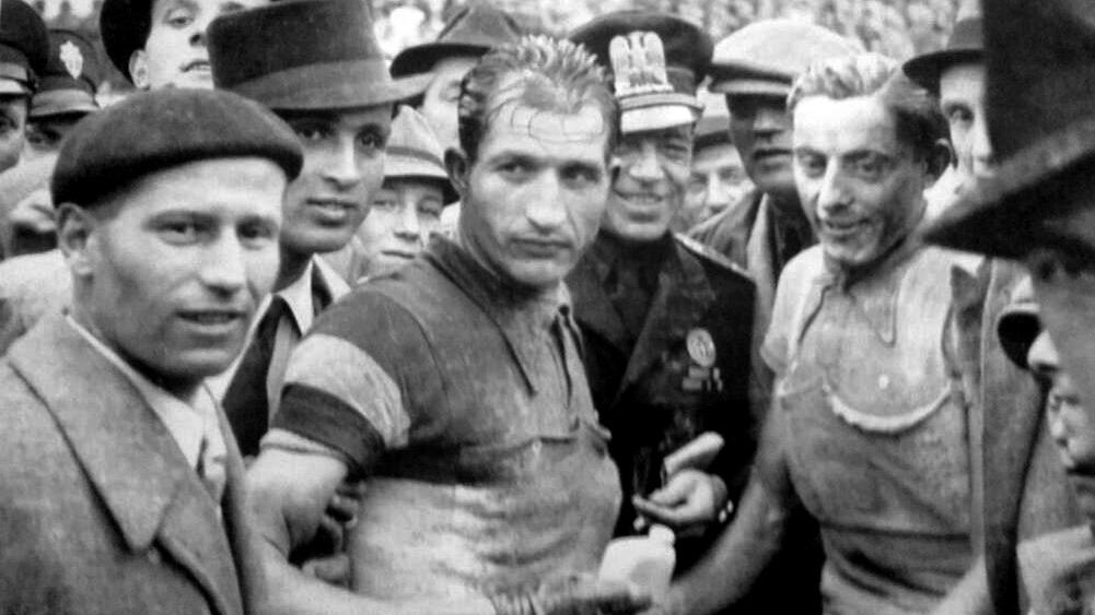 Gino Bartali e Fausto Coppi nel 1940