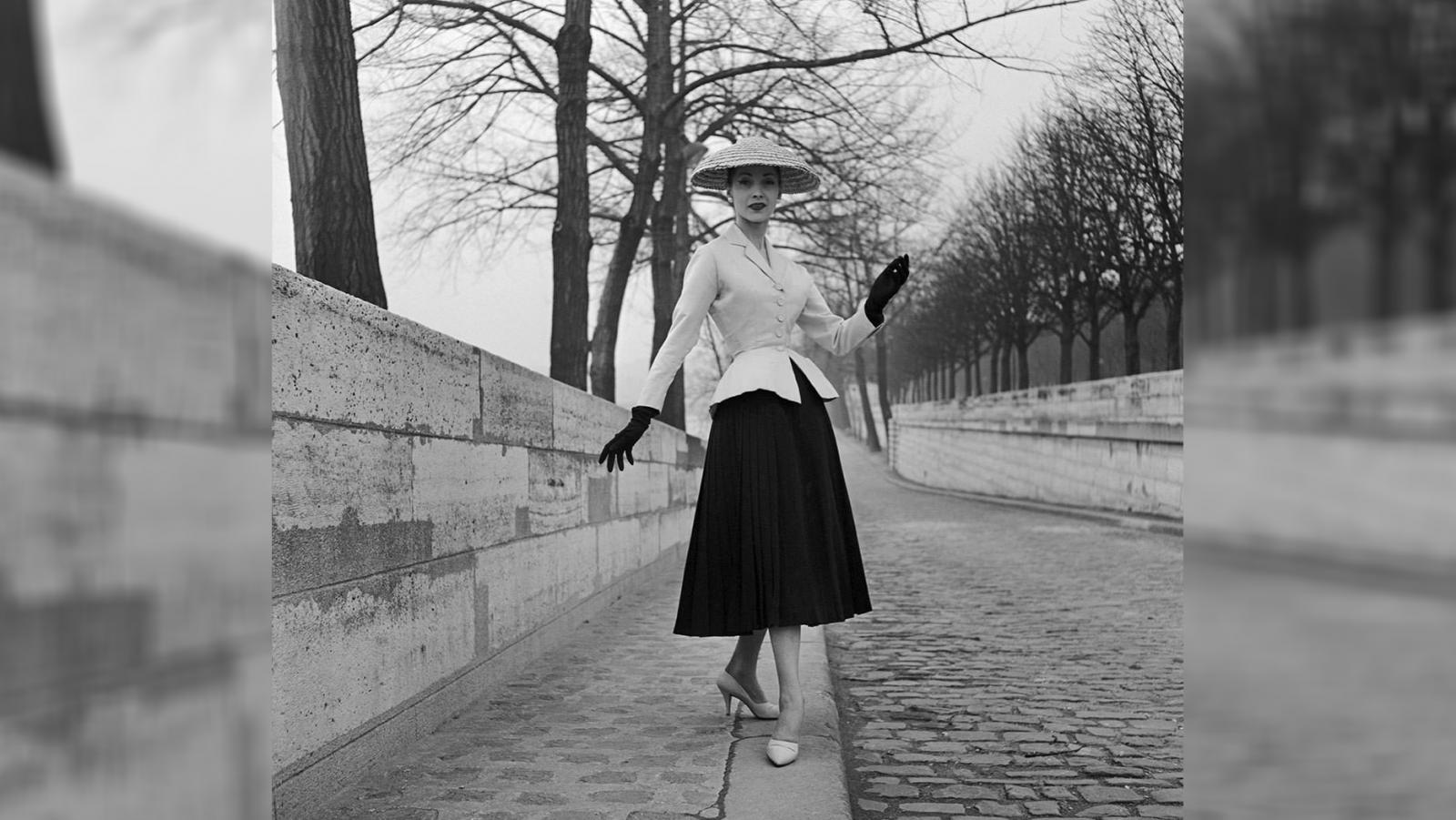 Tailleur bar, l'icona del New Look di Dior (fonte: dior.com)