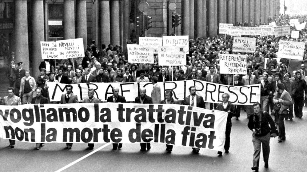 La marcia dei quarantamila FIAT